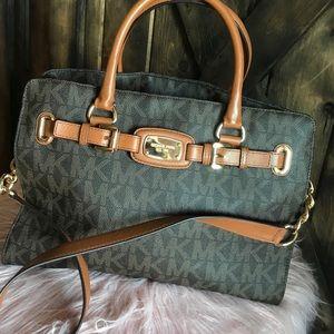 Michael Kors Hamilton Bag Crossbody purse brown